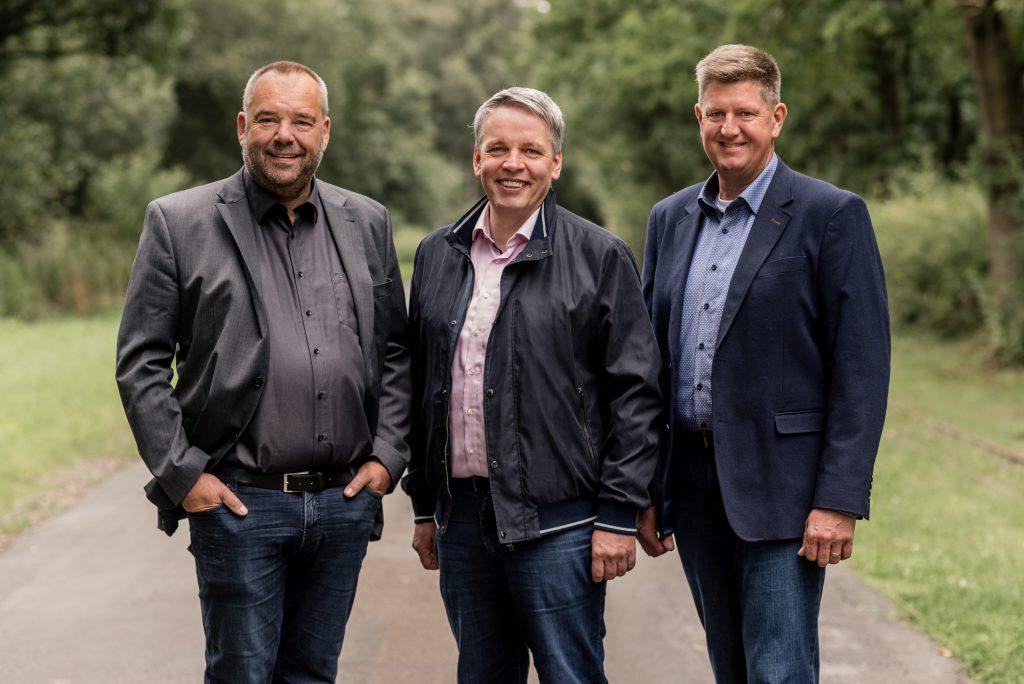 Hans-Hermann Borggrefe , Heino Mackenstedt, Klaus Abeling